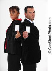 cartelle, business-partners, offerta