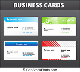cartes affaires