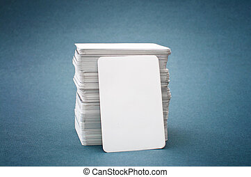 cartes, business, vide
