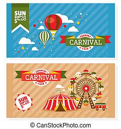 cartes, pays, vendange, foire, invitation