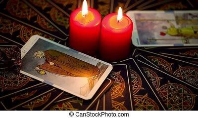 cartes, tarot