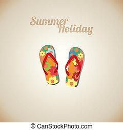 cartes, vacances été