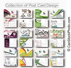 cartolina, apertura, disegno, invito
