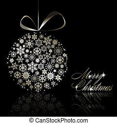 cartolina, argento, Allegro, Natale