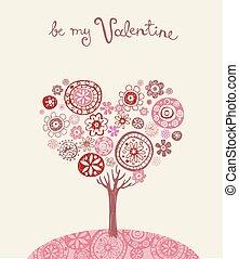 cartolina auguri, valentina