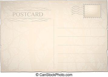 cartolina, retro