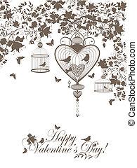 cartolina, valentina