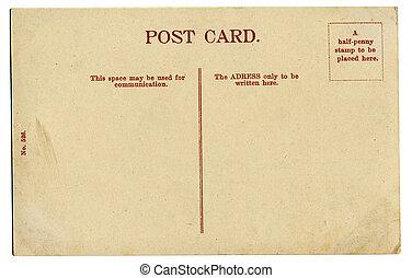 cartolina, vendemmia