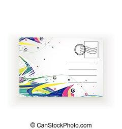 cartolina, vuoto