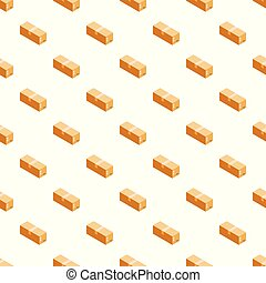 Carton box pattern seamless vector