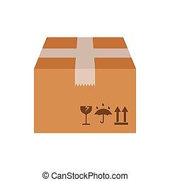 Carton box vector illustration