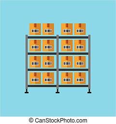 carton boxes icon