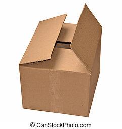 carton, isolé