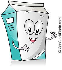 carton, lait
