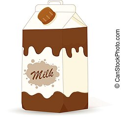 carton milk illustration