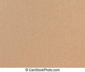 carton ondulé, texture