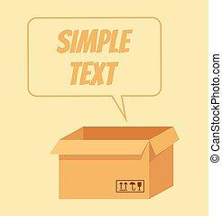 Carton open box