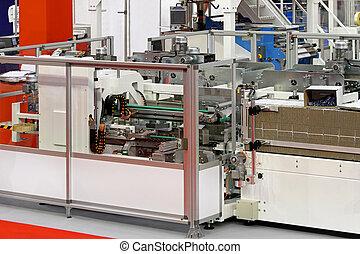Carton packaging line