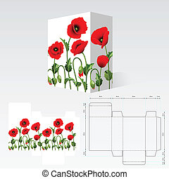 Carton template - Completed packaging should be printed on...