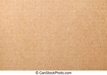 Brown cardboard carton texture for background. Top view