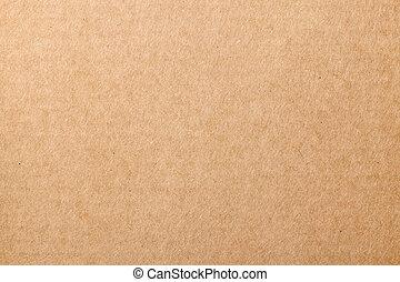 Carton Texture - Brown cardboard carton texture for...