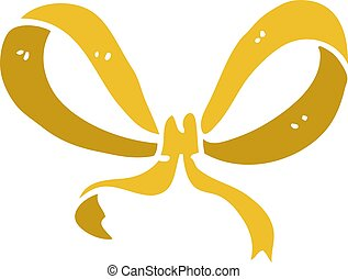 carton yellow ribbon