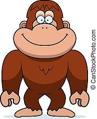 cartone animato, bigfoot