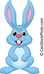 cartone animato, carino, coniglio