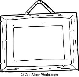 cartone animato, cornice