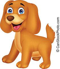 cartone animato, cucciolo, carino