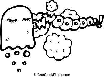 Fantasma vettore carattere cartone animato fantasma - Cartone animato immagini immagini fantasma immagini ...