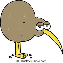 cartone animato, kiwi