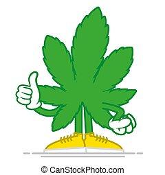 cartone animato, marijuana