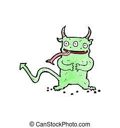 Poco Demone Cartone Animato