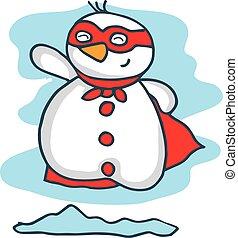 Pupazzo di neve cartone animato collezione pupazzo di - Cartone animato natale agrifoglio di natale ...