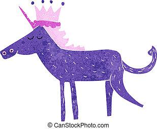 cartone animato, unicorno