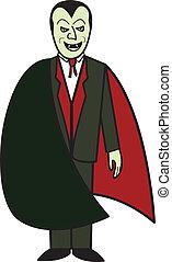cartone animato, vampiro