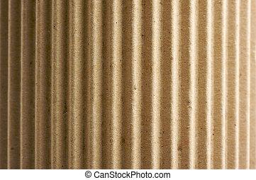 cartone ondulato, arrotondato
