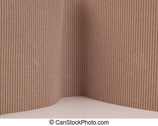 cartone ondulato, fondo