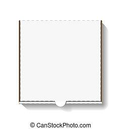 cartone, scatola pizza