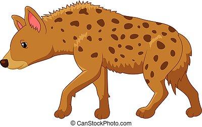 Cartoon a hyena