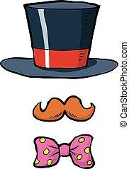Cartoon accessories magician