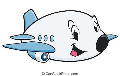 cartoon airplane vector clipart eps images 9 959 cartoon airplane rh canstockphoto com cartoon airplane with banner clipart