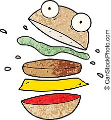 cartoon amazing burger