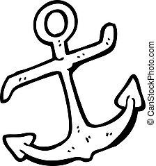 cartoon anchor symbol