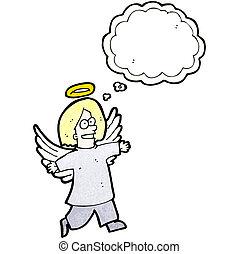 cartoon angel