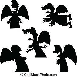 Cartoon Angels