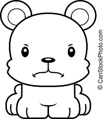 Cartoon Angry Bear