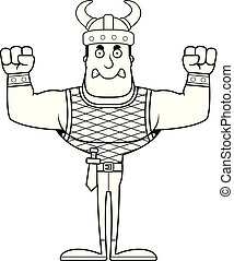 Cartoon Angry Viking
