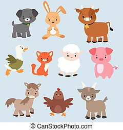 Cartoon Animal Characters